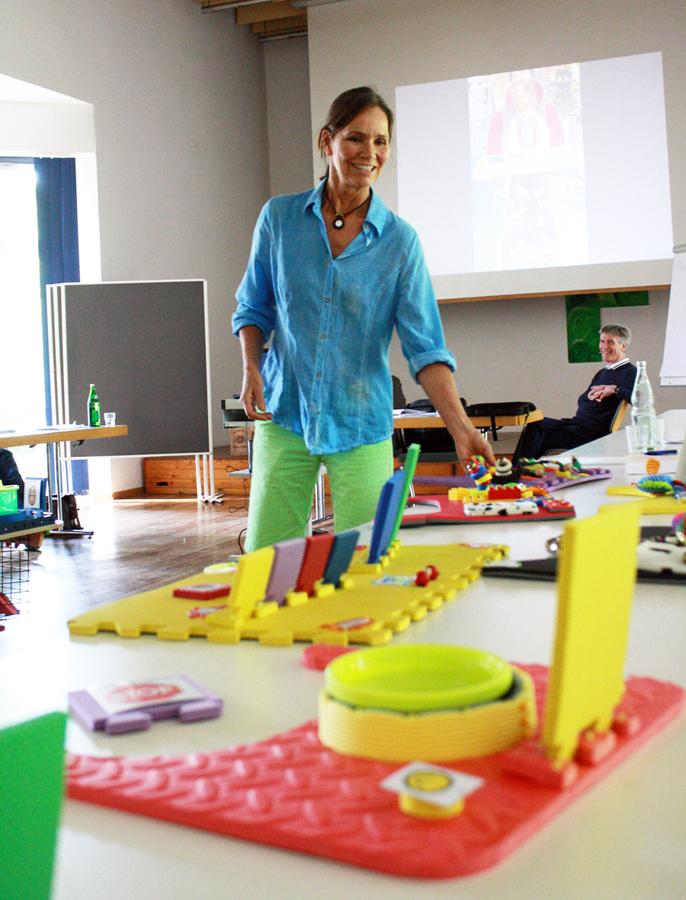 Kinderphysiotherapeutin Nicole Babitsch