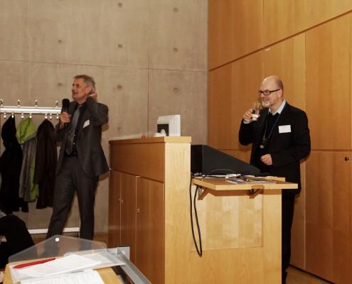 Dresdner Herbsttag - Rechtsanwalt Axel Näther beim Vortrag
