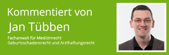 Kommentar von Jan Tübben