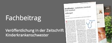 Keuchhusten Fachbeitrag von Roland Uphoff im Magazin Kinderkrankenschwester