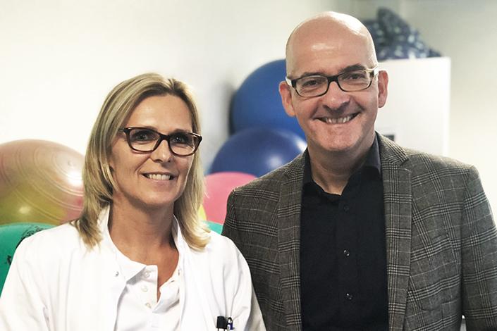 Schulung zu medizinrechtlichen Fragen in der Geburtshilfe in der Sana Klinik in Düsseldorf. Hier mit Dr. Ines Milk, Chefärztin der Frauenklinik.